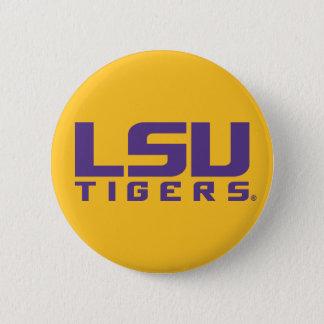 Purple LSU Tigers Logo Button