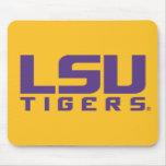 Purple LSU Tigers Logo Mousepad