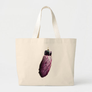 Purple Lucky Rabbit s Foot Canvas Bags