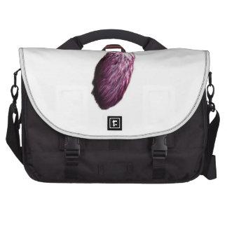 Purple Lucky Rabbit s Foot Laptop Bag