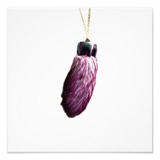 Purple Lucky Rabbit's Foot Photo Art