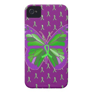 Purple Lyme Disease Awareness Cell Phone Case