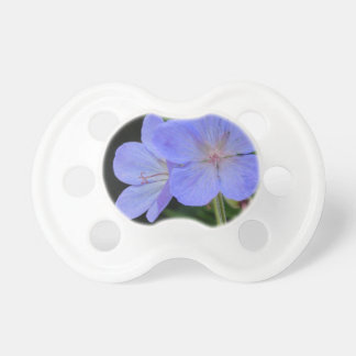 Purple Macro Flower Chupetes De Bebé