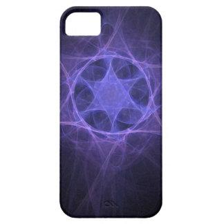 Purple Magen David iPhone 5 Cover