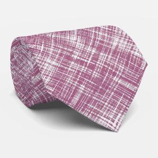 Purple Magenta Stylish Abstract Patter Tie