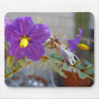Purple Maggie Products Mouse Pad