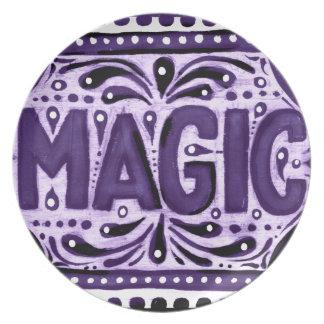 Purple Magic Plate
