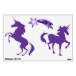 Purple Magic Stars Unicorn Wall Graphics