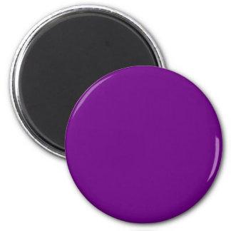 Purple Refrigerator Magnet