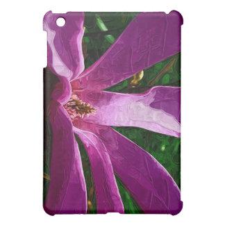 Purple Magnolia Blossom iPad Mini Case
