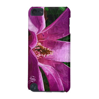 Purple Magnolia Blossom - Painted Style iPod Touch 5G Cover