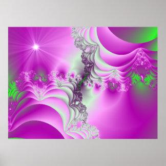 Purple Majesty Fractal Print