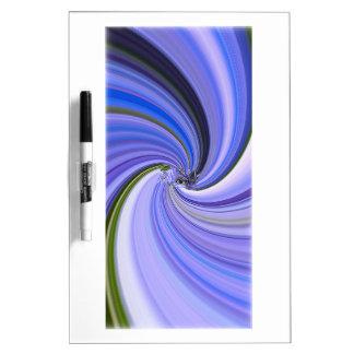 Purple Majesty Vortex Fractal Dry-Erase Board