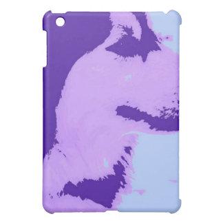 Purple Malamute Pop Art iPad Mini Case