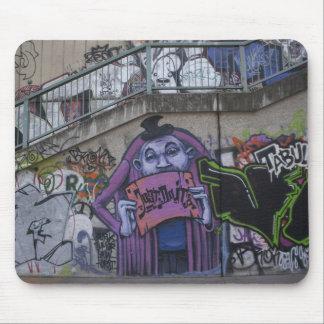 Purple Man Mouse Pad