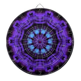 Purple Mandala  Dart Board