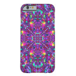 Purple Mandala Hippie Pattern Barely There iPhone 6 Case