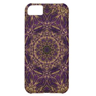 Purple Mandala Hippie Pattern Cover For iPhone 5C