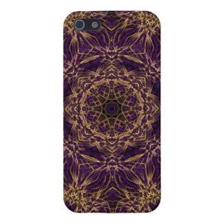 Purple Mandala Hippie Pattern Cover For iPhone SE/5/5s