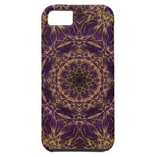 Purple Mandala Hippie Pattern iPhone SE/5/5s Case