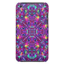 Purple Mandala Hippie Pattern iPod Case-Mate Case