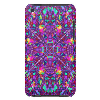 Purple Mandala Hippie Pattern iPod Case-Mate Case