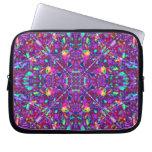 Purple Mandala Hippie Pattern Laptop Computer Sleeve