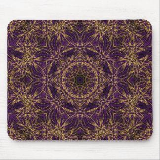 Purple Mandala Hippie Pattern Mouse Pad