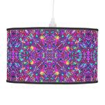 Purple Mandala Hippie Pattern Pendant Lamp