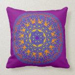 Purple Mandala Pillow