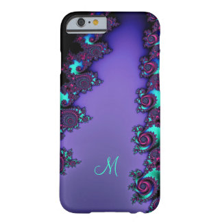 Purple Mandelbrot Fractal Design Barely There iPhone 6 Case