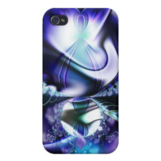 Purple Mandelbrot Fractal iPhone 4/4S Cover