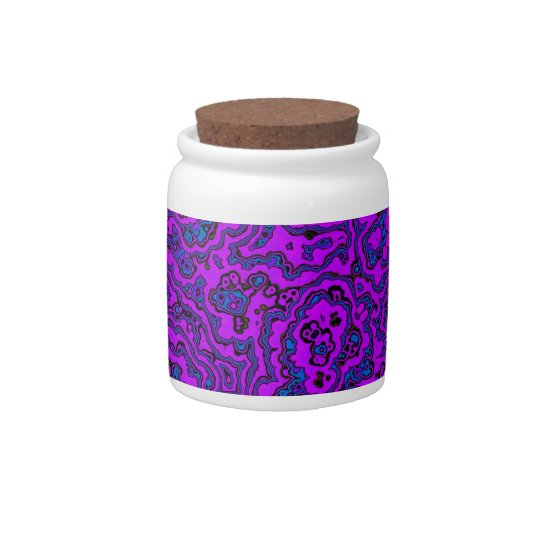 Purple Mania Candy Dish