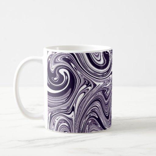 Purple Marble Coffee Mug
