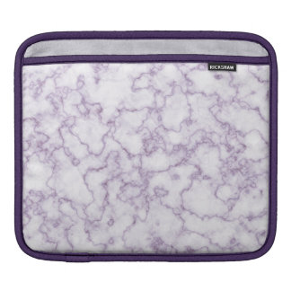 Purple Marble Pattern Sleeve For iPads