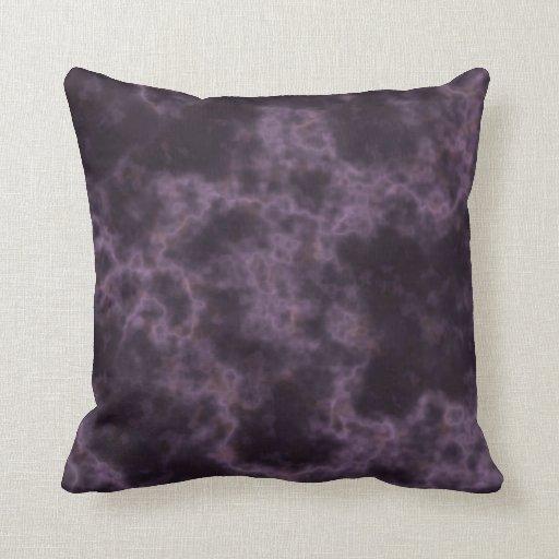 Purple Marble Texture Throw Pillow   Zazzle