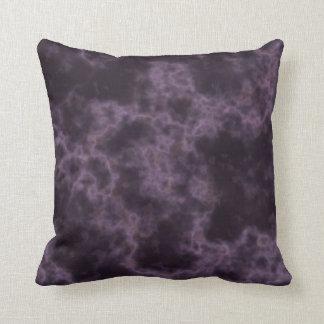 Purple Marble Texture Throw Pillow