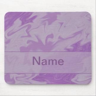 Purple Marblized Cloud Mouse Pad