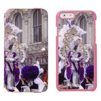 Purple Mardis Gras Zulu King iPhone 6/6s Wallet Case