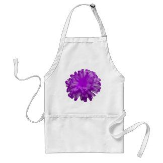 Purple Marigold Apron