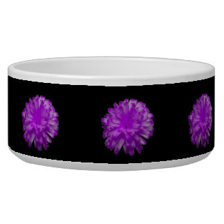 Purple Marigold Dog Bowl