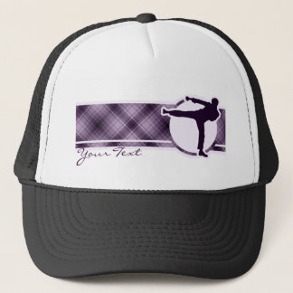 Purple Martial Arts Trucker Hat