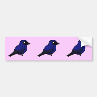 Purple Martin Bumper Sticker