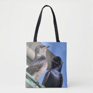 Purple Martin Mates Tote Bag
