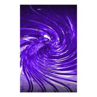 Purple Martini Stationery