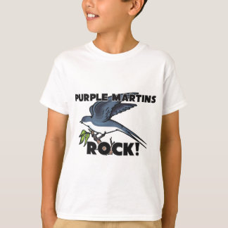 Purple Martins Rock T-Shirt