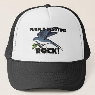 Purple Martins Rock Trucker Hat