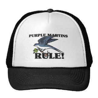 PURPLE MARTINS Rule Mesh Hats