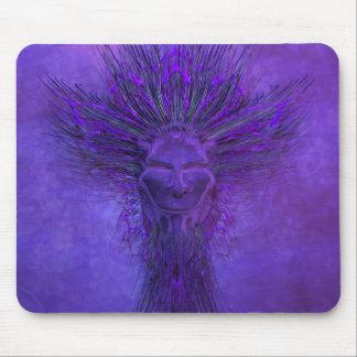 Purple Mask Mousepad