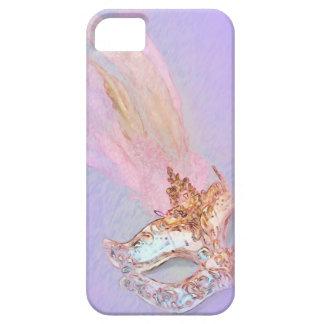 Purple Masquerade iPhone SE/5/5s Case